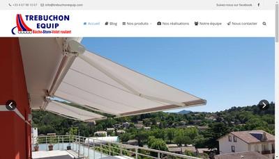 Site internet de Trebuchon Equip