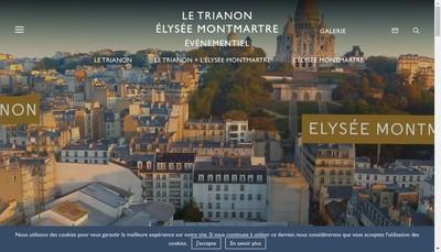 Site internet de Elysee Montmartre