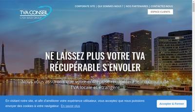 Site internet de Tva Conseil SARL