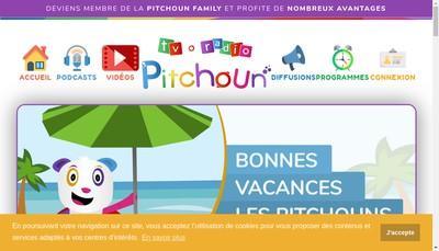 Site internet de Pitchoun Medias