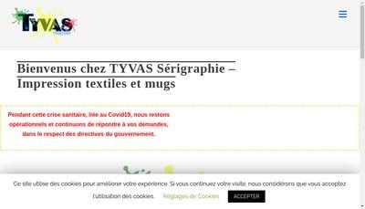 Site internet de Tyvas