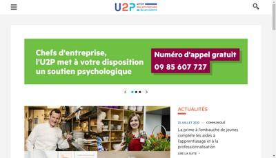 Site internet de U2P