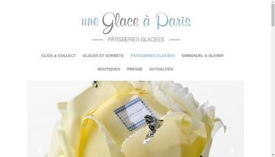 Site internet de Abbesses Ryon-Menard Glaciers Createurs