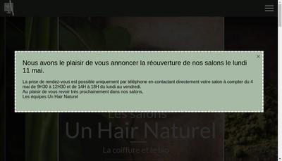 Site internet de Un Hair Naturel