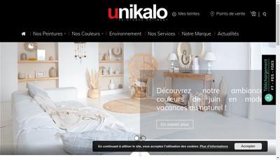 Site internet de Unikalo Bretagne