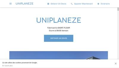 Site internet de Uniplaneze