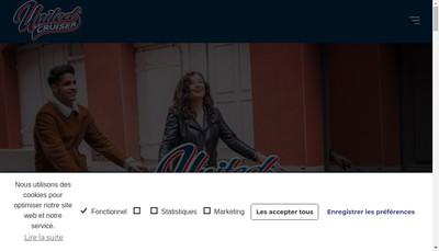 Site internet de United Cruiser