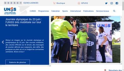 Site internet de UNSS