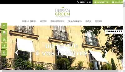 Site internet de Urban-Green