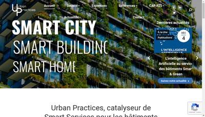 Site internet de Urban Practices