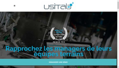 Site internet de Usitab