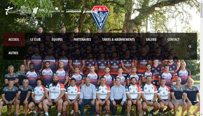 Site internet de Union Sportive Tyrosse Rugby Cote Sud