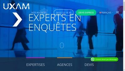 Site internet de Uxam