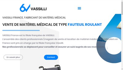 Site internet de Vassilli France