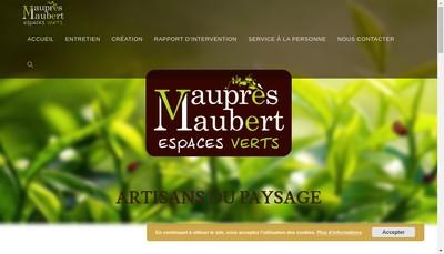 Site internet de Vau Pres Maubert Espaces Verts