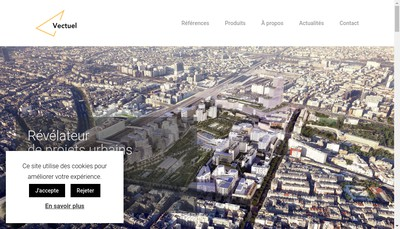 Site internet de Vectuel