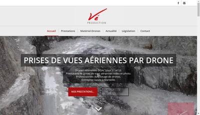 Site internet de Ve-Prod