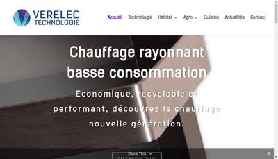 Site internet de Verelec