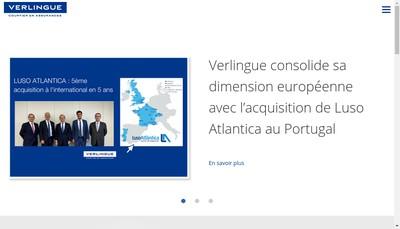 Site internet de Verlingue