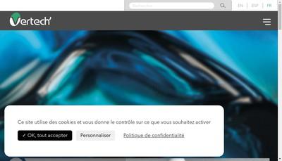 Site internet de Vertech'