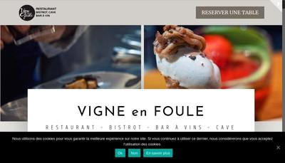 Site internet de Vigne en Foule