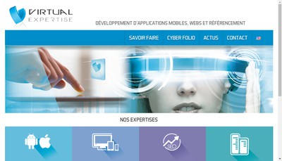 Site internet de Virtual Expertise