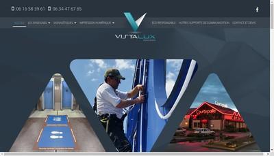 Site internet de Vista Lux