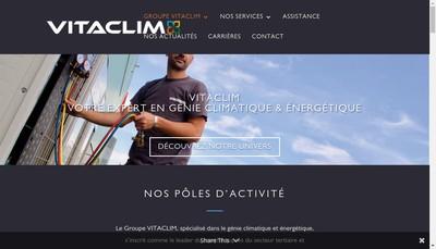 Site internet de Vitaclim