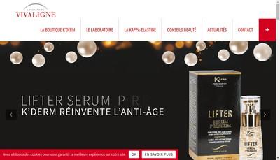 Site internet de Vivaligne