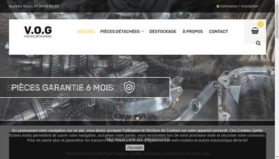Site internet de VOG
