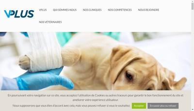 Site internet de Vplus Services