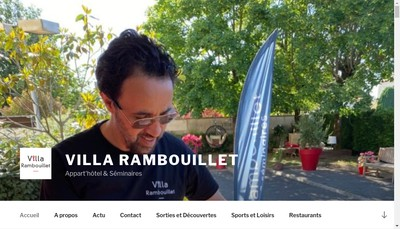Site internet de Residence Services de la Giroderie
