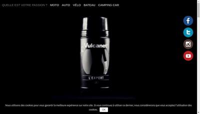 Site internet de Vulcanet Company