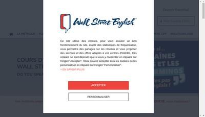 Site internet de Wall Street Institute