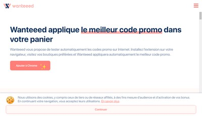 Site internet de Wanteeed