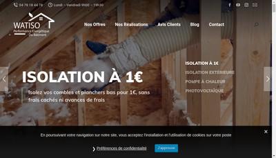 Site internet de Ideal Assistance