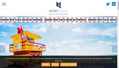 Site internet de Rigby Capital