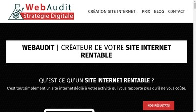 Site internet de Webaudit France
