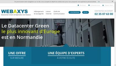 Site internet de Web Axys Interac Prod Tekeela J'Y Web