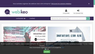 Site internet de Webikeo