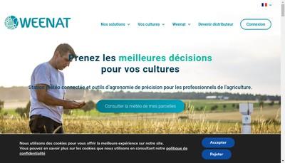 Site internet de Weenat