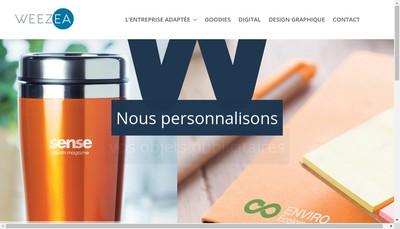 Site internet de Weezea