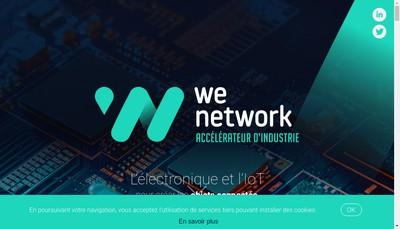Site internet de West Electronic et Applications Network