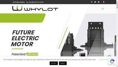 Site internet de Whylot