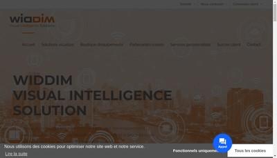 Site internet de Widdim