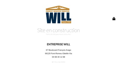 Site internet de Will Jean-Pierre