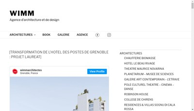 Site internet de Wimm