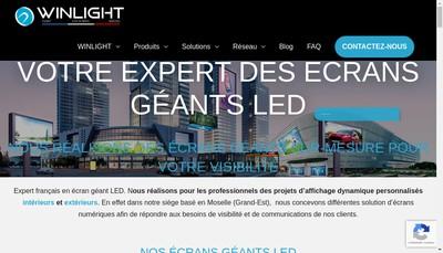 Site internet de Winlight International