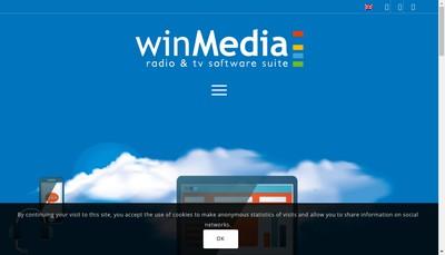 Site internet de Winmedia Support