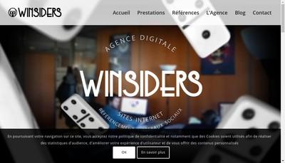 Site internet de SAS Winsiders